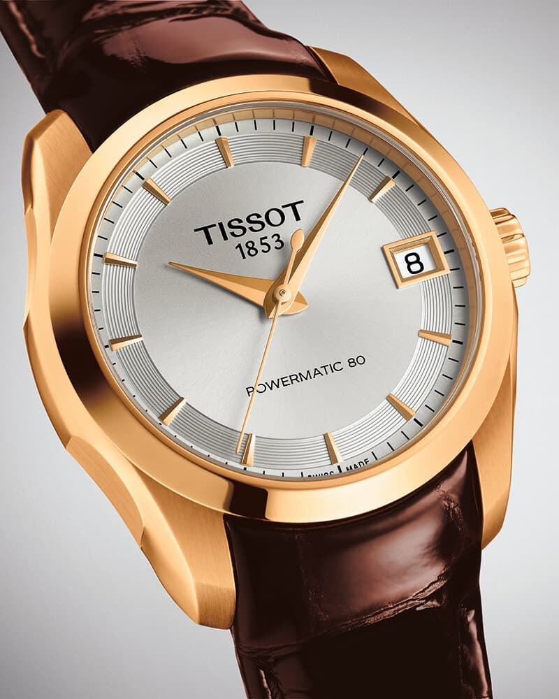 Tissot Couturier Powermatic 80 Lady T0352073603100