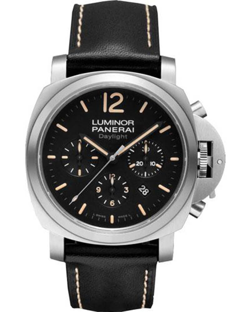 Часы Panerai PAM00356 Luminor Chrono Daylight Steel 44mm