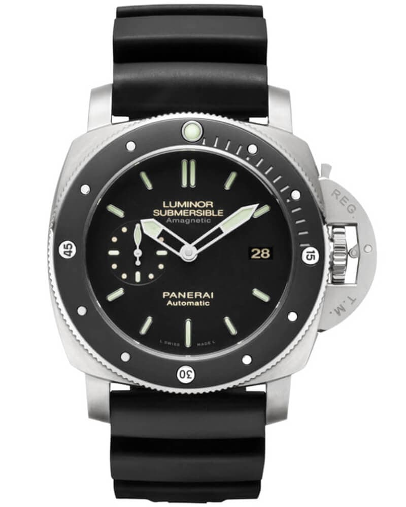 Часы Panerai PAM00389 Luminor Submersible 1950 Amagnetic 3 days 47mm