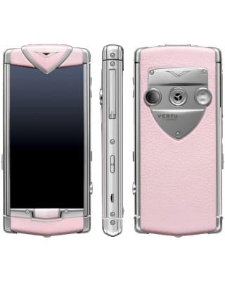 002V3N2 Моб. телефон Vertu RM-681V Constellation T (Polished SS Pink Leather)