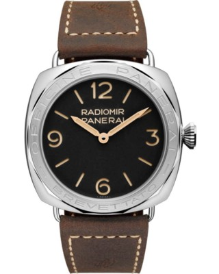 Часы Panerai PAM00685 Radiomir 3 days Acciaio 47 mm (Black Dial)