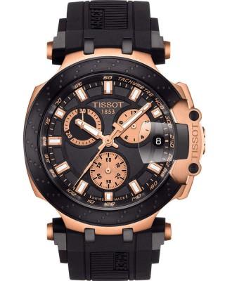 Механические мужские золотые часы тиссот equi t